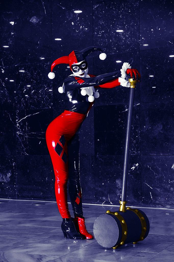 Harley Quinn / Frankfurter Buchmesse / Messegelände