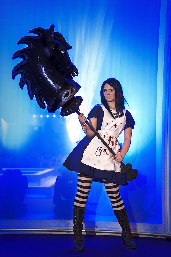 Alice Liddle / GamesCom / Messehalle
